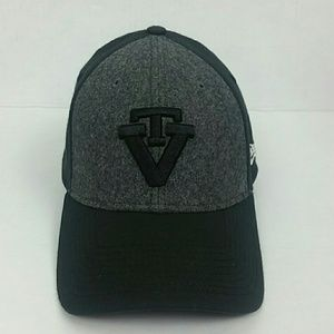 New Era 39Thirty Grey/Black VT Hat Size Med-Large